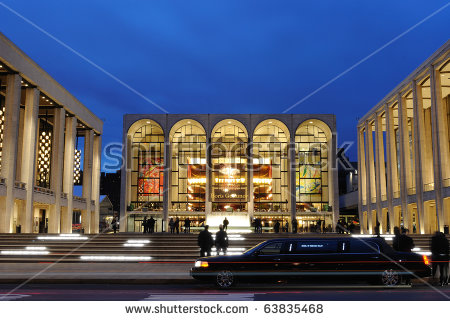 Metropolitan Opera House Stock Photos, Royalty.