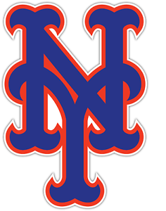 Details about New York Mets Baseball Logo Vinyl Sticker Decal *SIZES*  Cornhole Truck Wall Car.