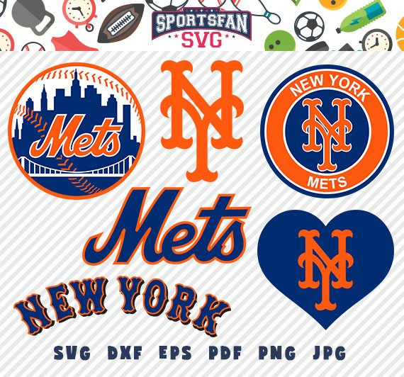 New York Mets NY svg pack.
