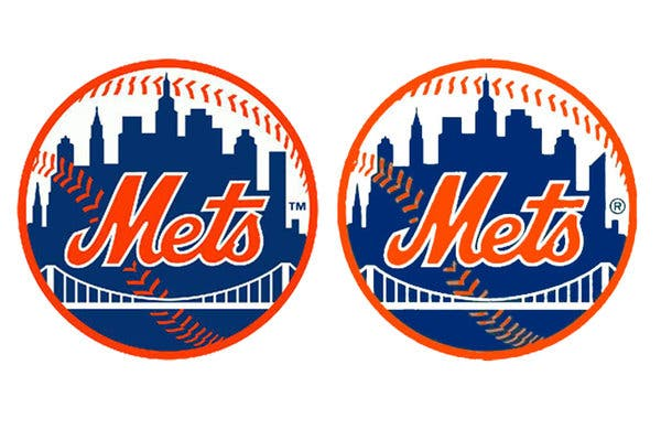 Alteration to Mets Logo on Twitter and Facebook Draws.