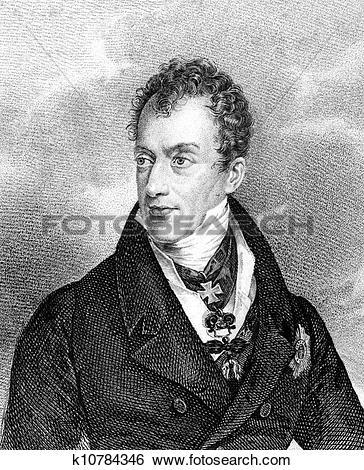 Stock Images of Klemens von Metternich k10784346.