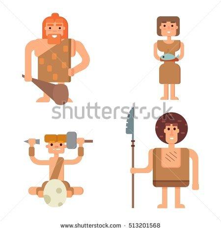 Neanderthal Stock Photos, Royalty.