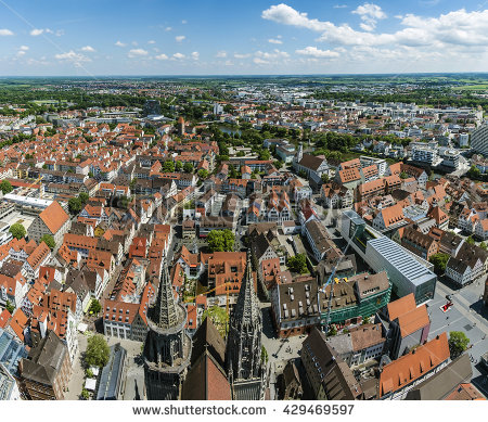 Ulm Tower Stock Photos, Royalty.