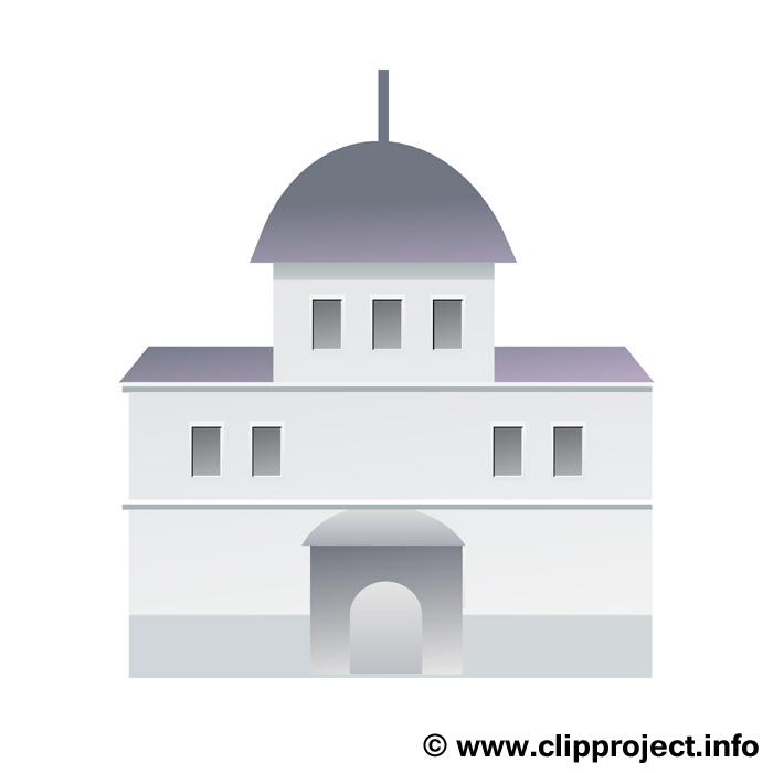 Rathaus Bild Clip Art free.