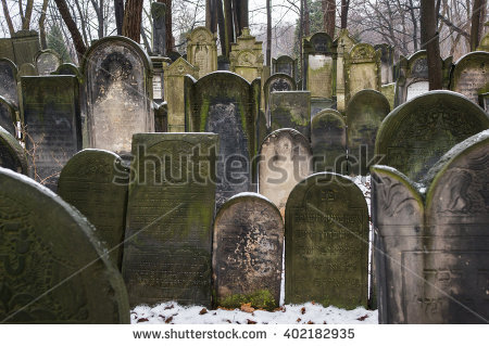 Cemetery Winter Stock Photos, Royalty.