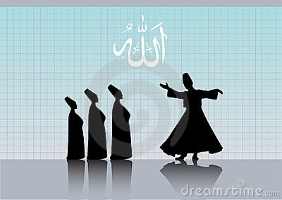 Sufism Stock Illustrations.