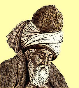 Mevlana Jelaluddin Rumi By Omfardo.