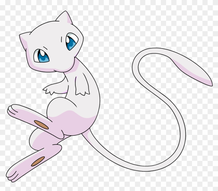 Blue And Pink Mew, HD Png Download.