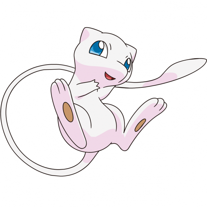 Pokemon Mew Png Vector, Clipart, PSD.