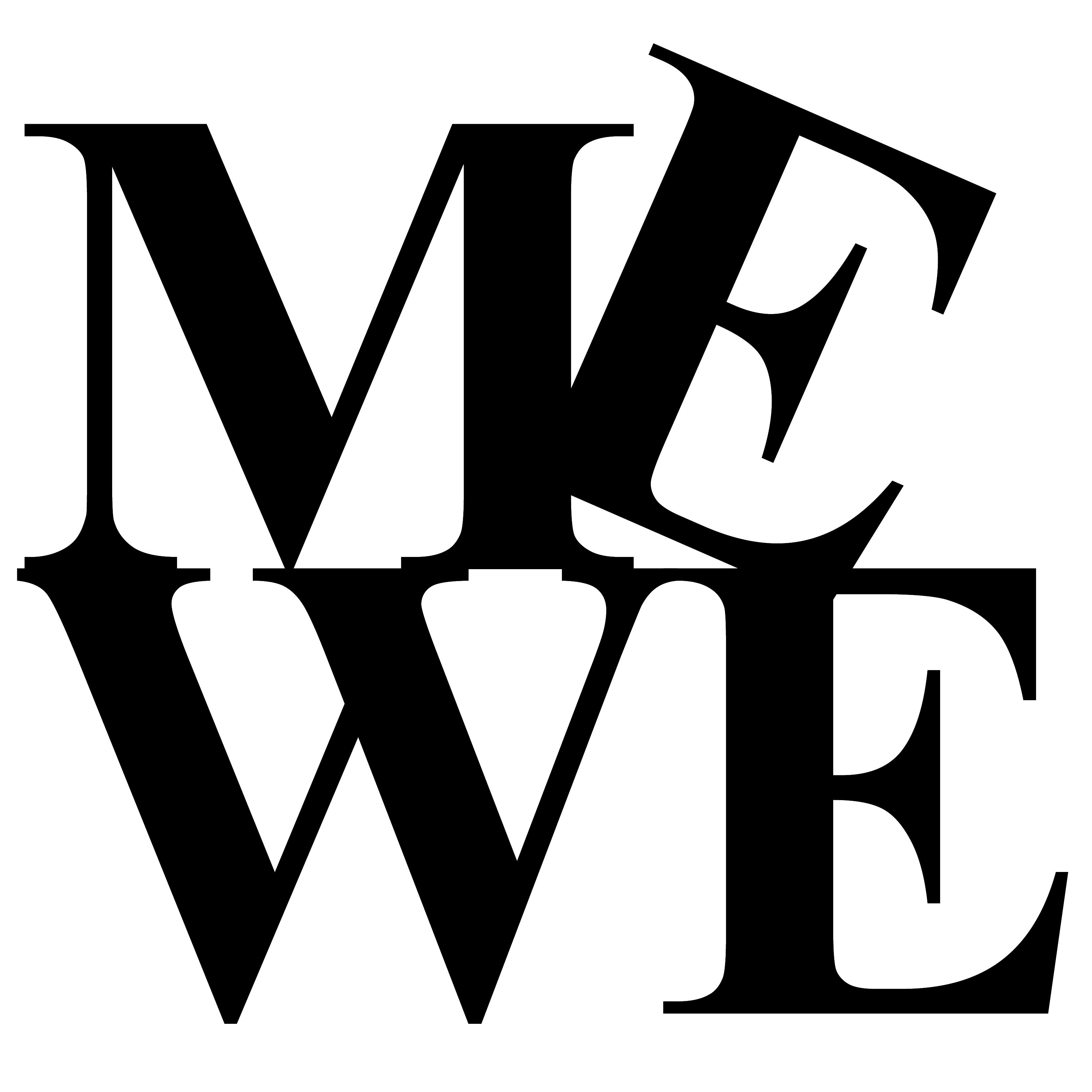 MeWe Logo blank.