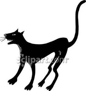 a_meowing_black_cat_royalty_free_080831.