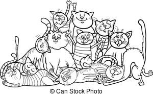 Meow Stock Illustrations. 1,250 Meow clip art images and royalty.