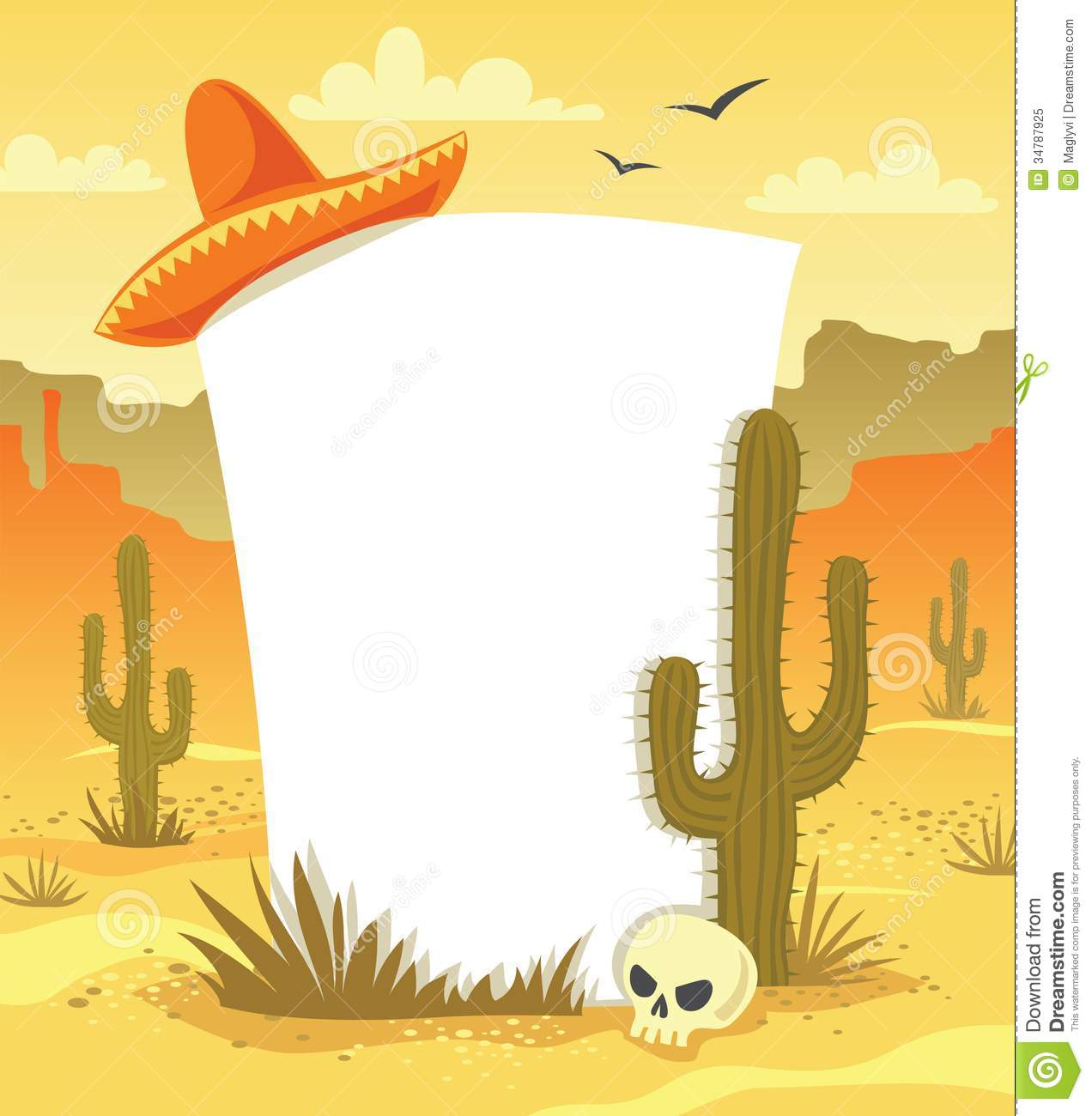 Mexican Background Clipart.
