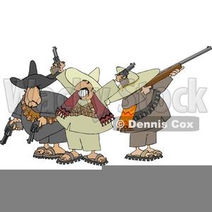Mexican Bandit Clipart.