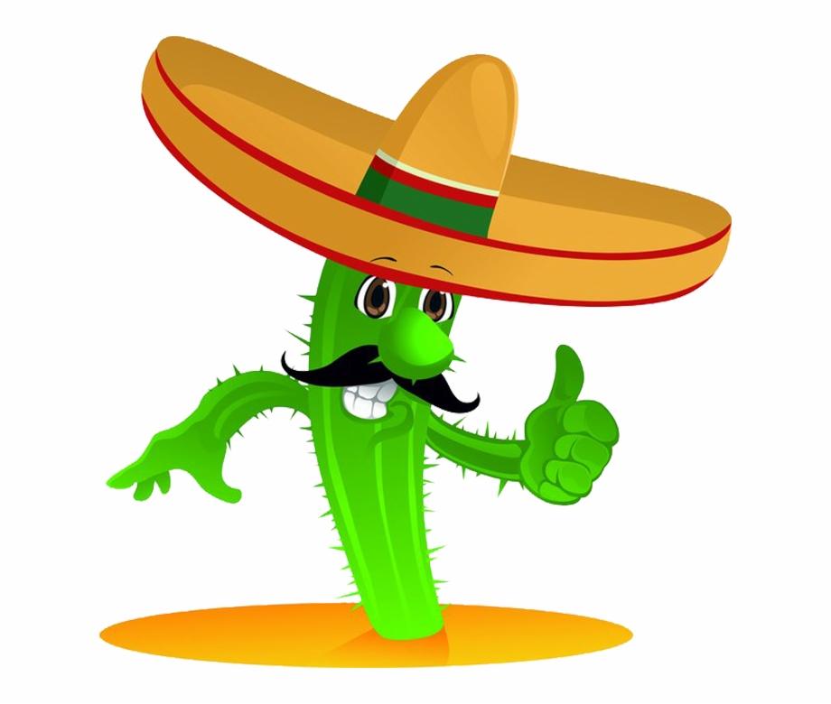 Mexican Cuisine Cactaceae Cartoon Cactus Transprent.