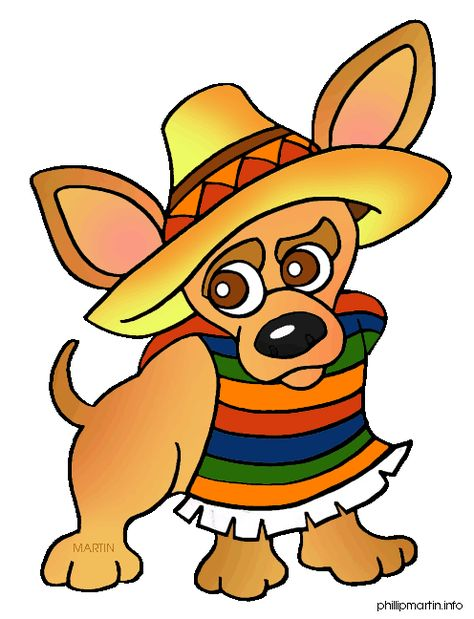 page of Mexico Clip Art or.