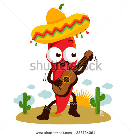 Chili Pepper Cartoon Stock Images, Royalty.