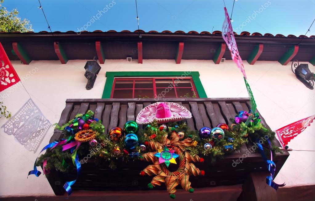Mexican Christmas Decor. Mexican Christmas Decor Nativity Scene.