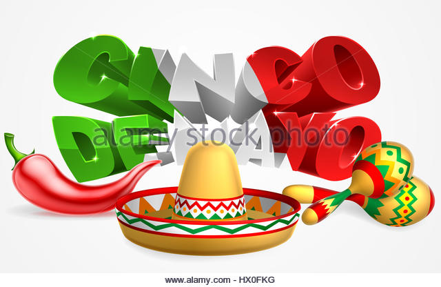 Mexican Hat And Maracas Stock Photos & Mexican Hat And Maracas.