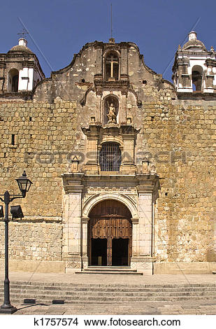 Stock Photo of Old Mexican church k1757574.