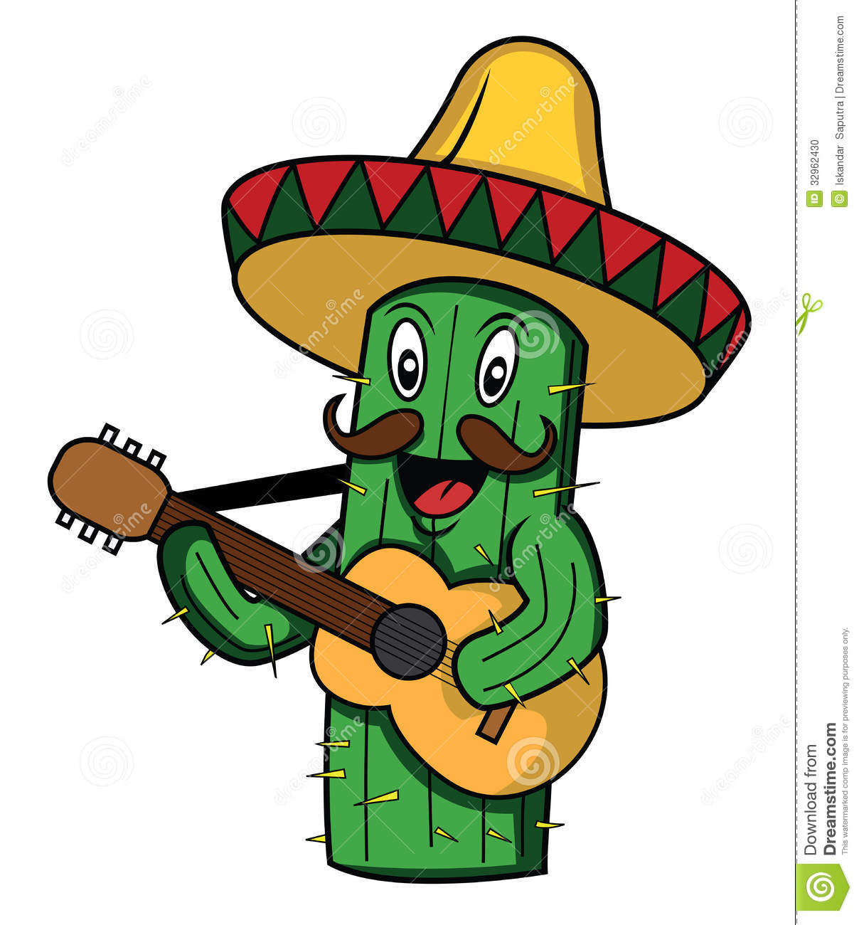 Funny Mexican Clipart.