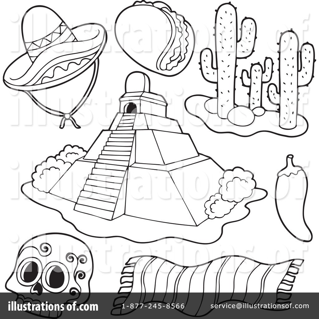 Mexican clipart black and white 3 » Clipart Portal.