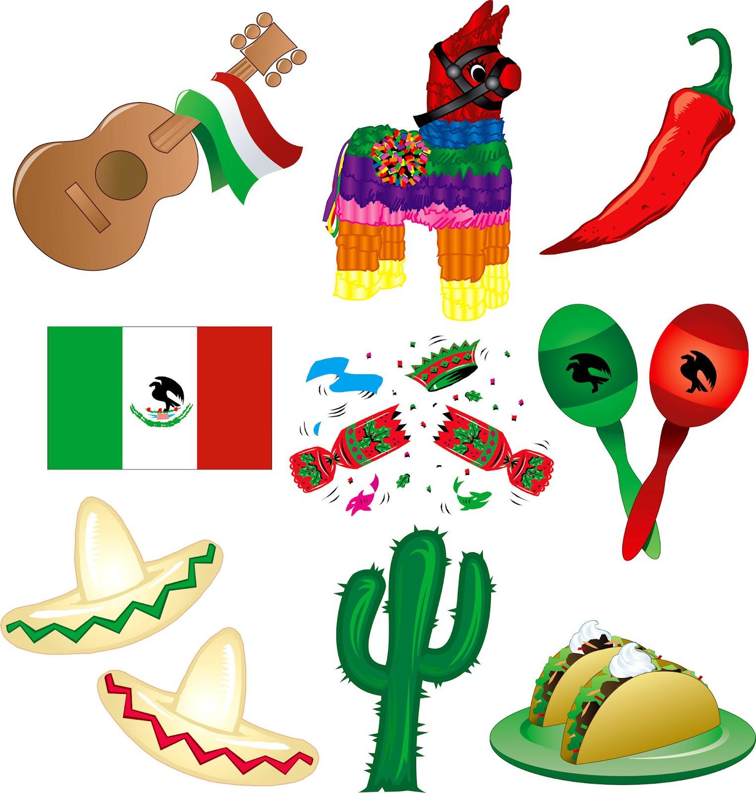 Mexican Culture Symbols N2 free image.