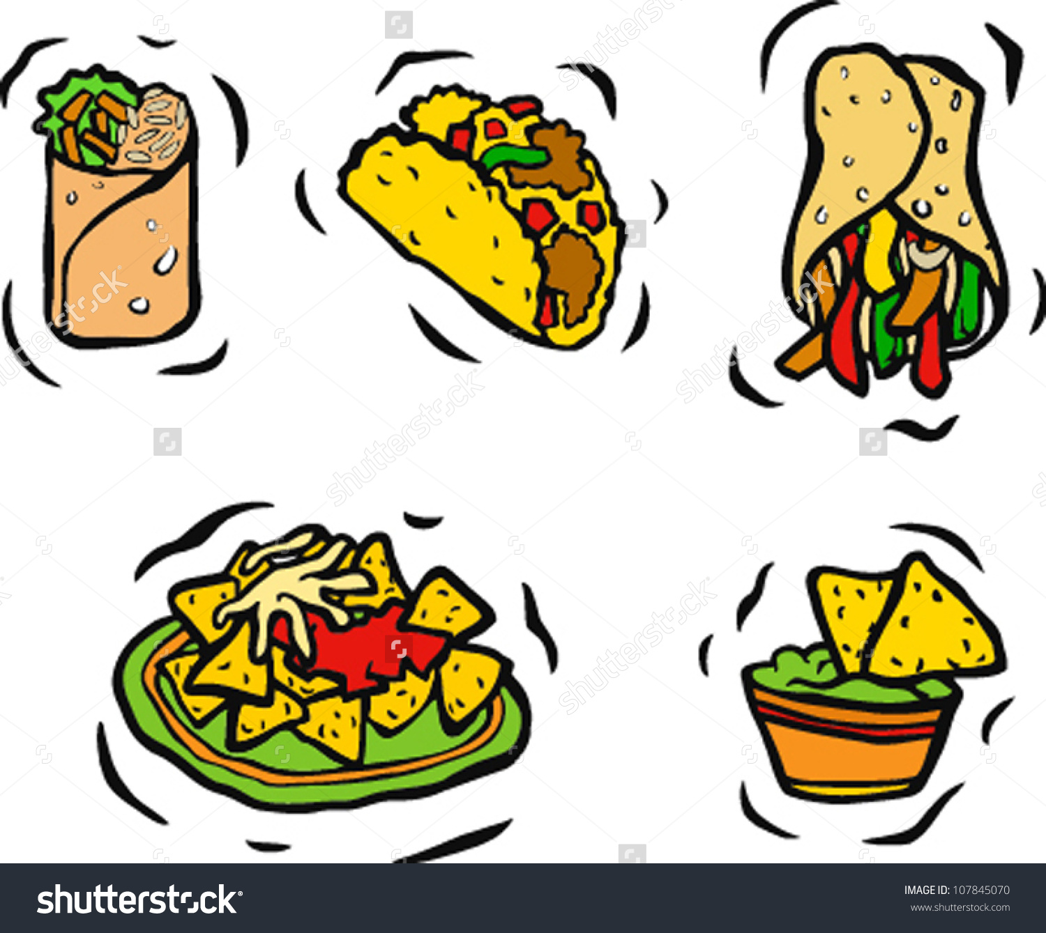 305 Mexican Food free clipart.