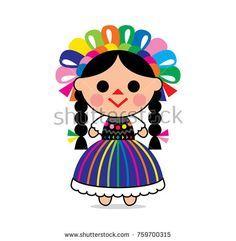 Mexican doll clipart » Clipart Portal.