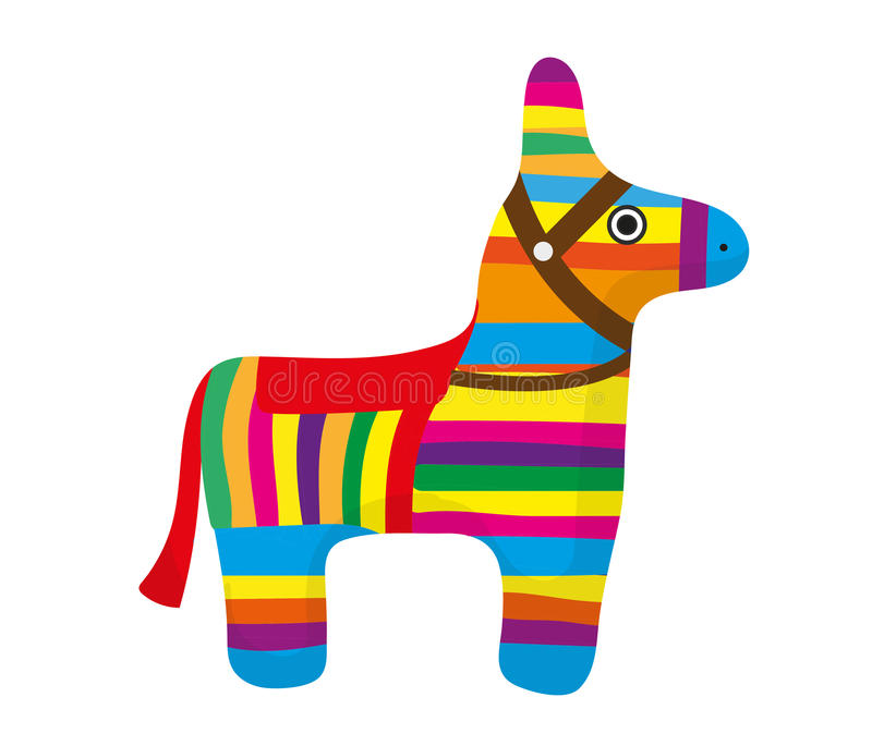 Mexican Donkey Stock Illustrations.