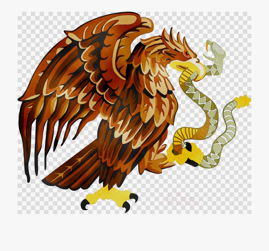 Mexico Flag Eagle Png.