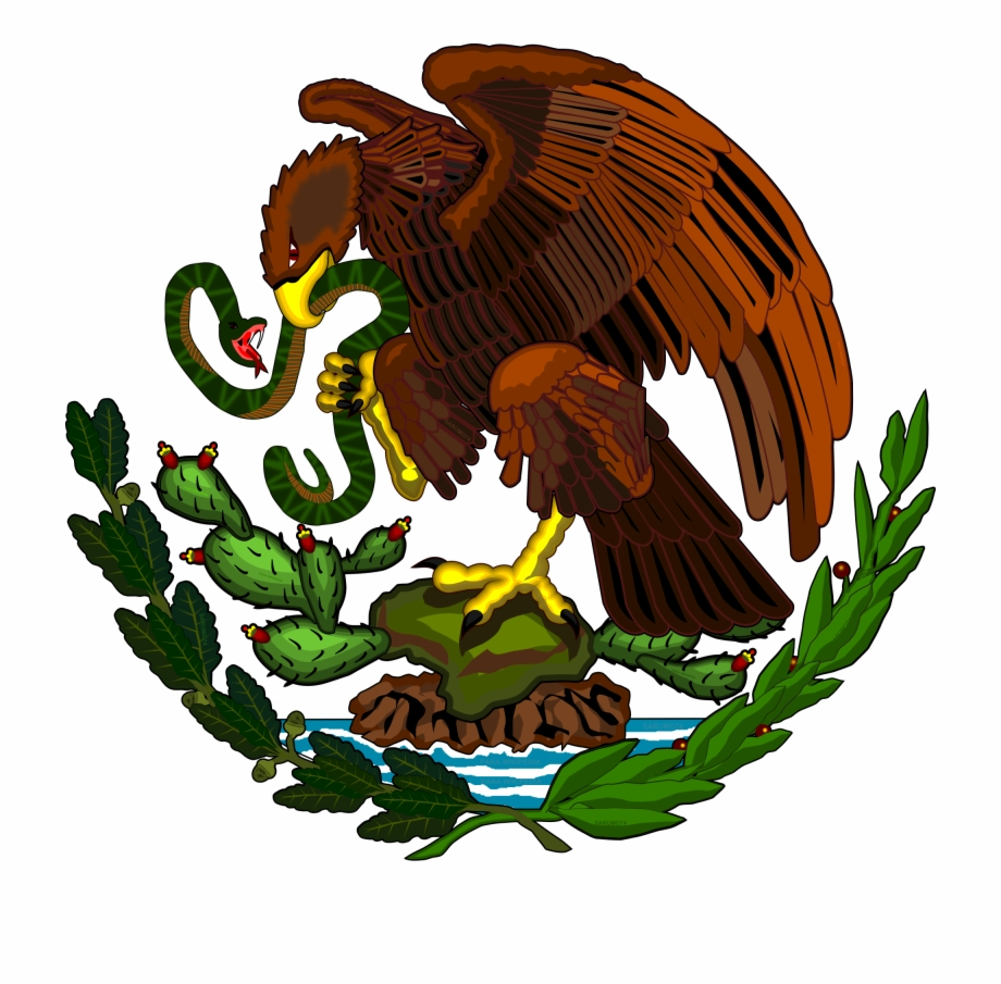 Eagle Svg Flag Mexican.