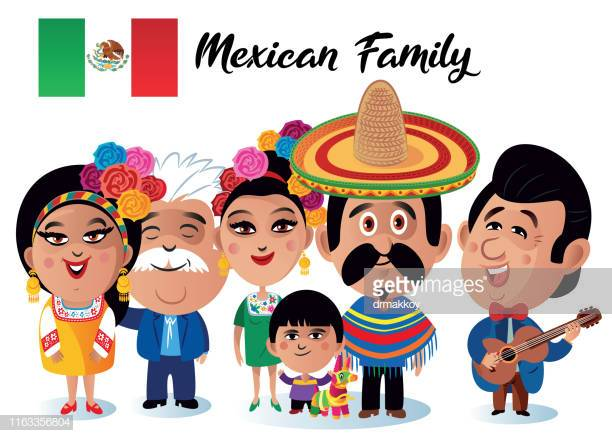 36 Mexican Family Stock Illustrations, Clip art, Cartoons.