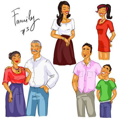 Mexican family clipart 6 » Clipart Portal.