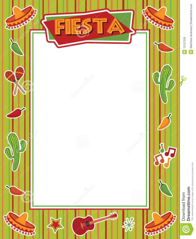 color pages ~ Printableip Art Mexican Borders For Food Free.