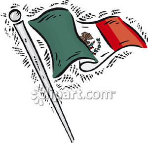 Flag of Mexico.