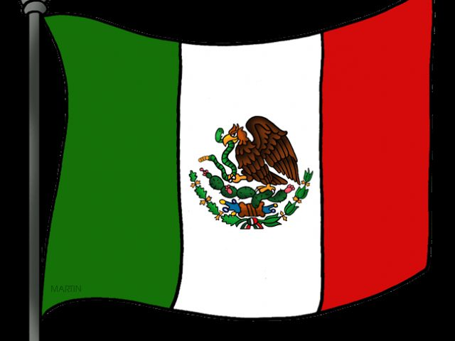 Showing post & media for Cartoon mexican flag waving.