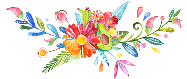 Mexican Flower Clipart.