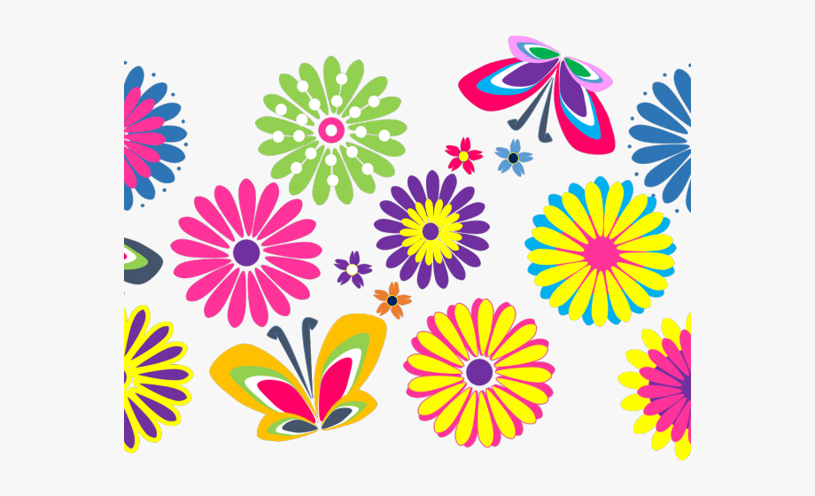 Flowers Color Clipart Flowersclip.