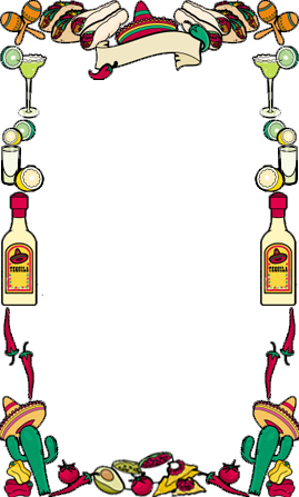 Mexican Frame Clipart.