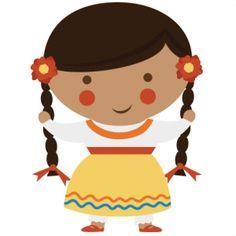 Mexican girl clipart 1 » Clipart Portal.