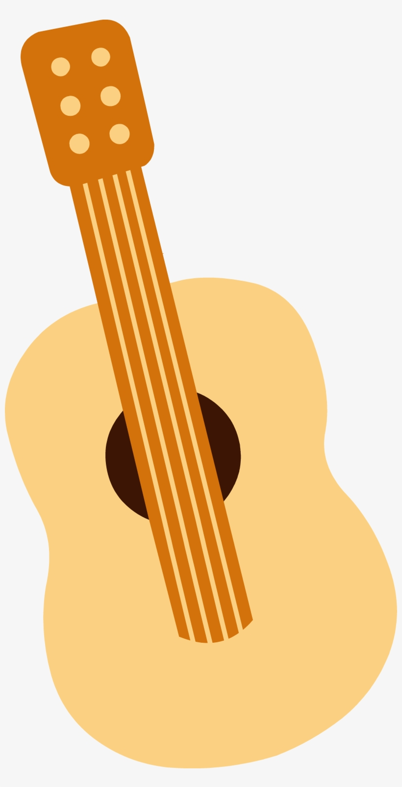 Spanish Clipart Mexican Guitar.