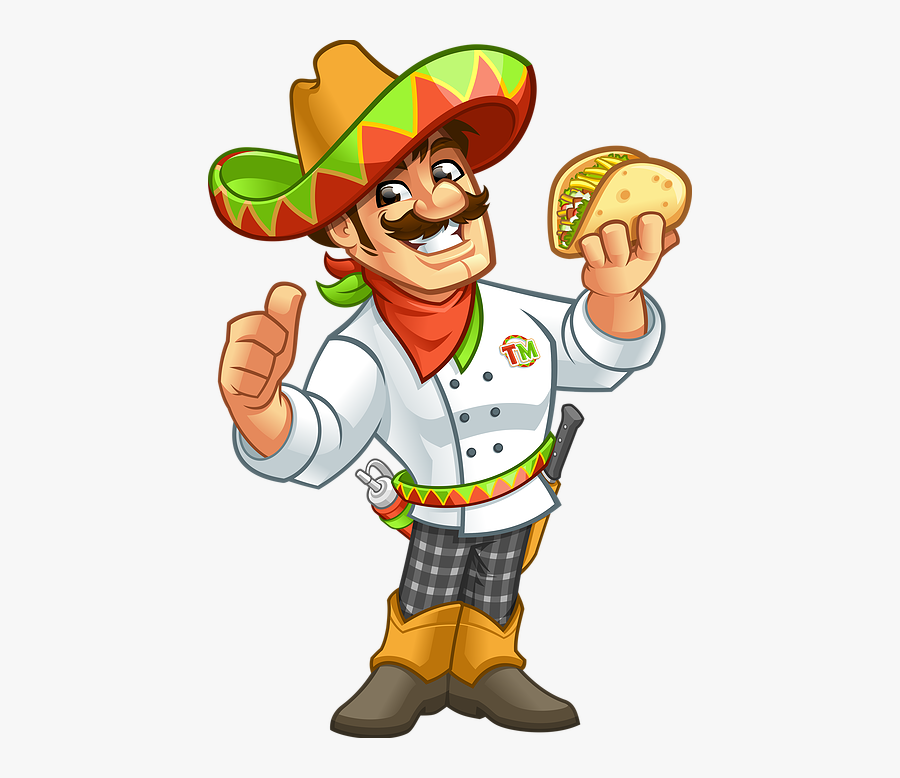 Mexican Taco Man.
