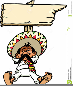 Mexican Guy Clipart.