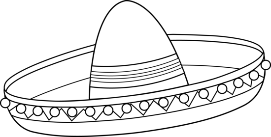Clipart mexican hat.