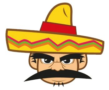 Mexican hat clip art clipart free clipart gmk mexican.