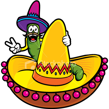 Sombrero Mexican Hat Clipart.