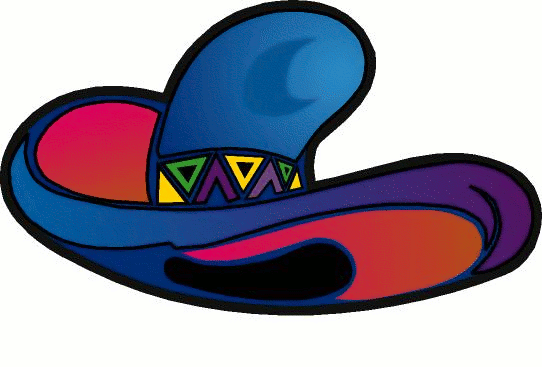 Mexican Hat Clipart Free.