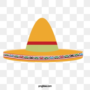 Mexican Hat PNG Images.