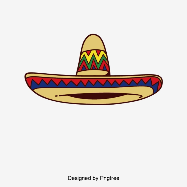 Mexican Hat Png, Vectors, PSD, And Clipa #122026.